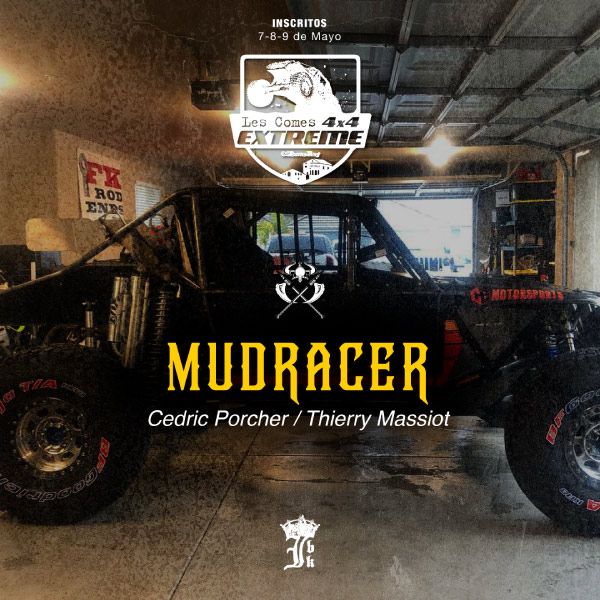 equipo mudracer 4x4 les comes